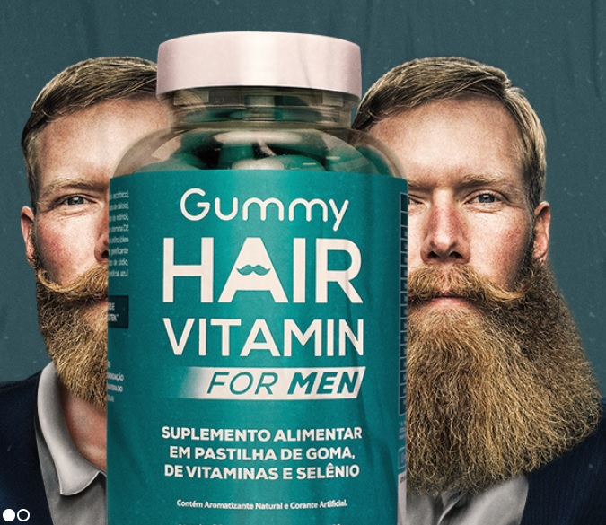 Gummy Hair For Man funciona 1